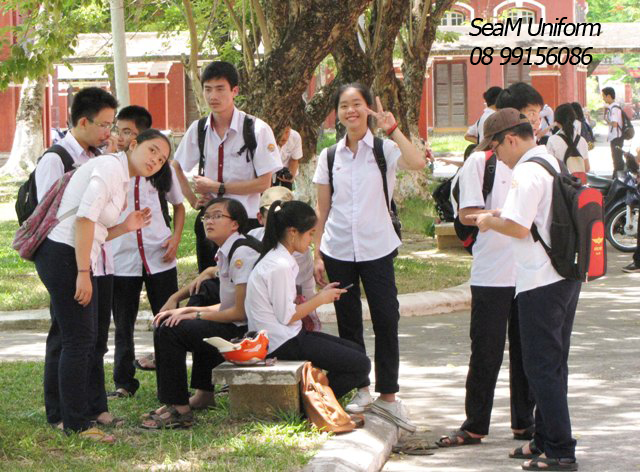 đồng phục đep cho học sinh trung học
